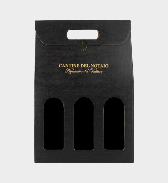 Confezione in cartone x 3 bottiglie da 75cl